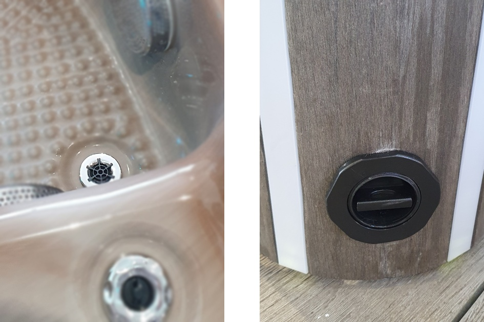 British Hot Tub Feature | Drain Valve
