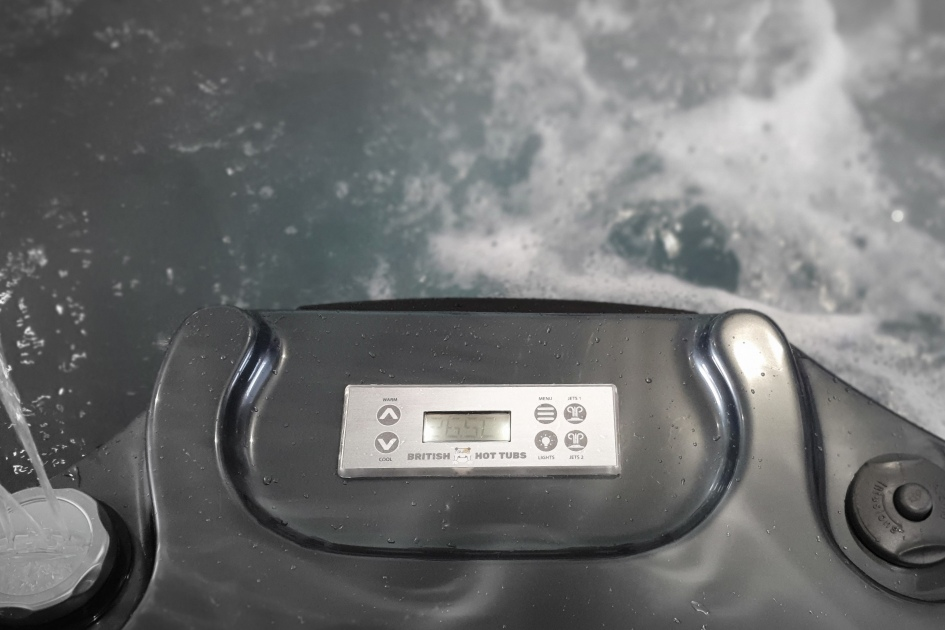 British Hot Tub Feature | Balboa Control Panel