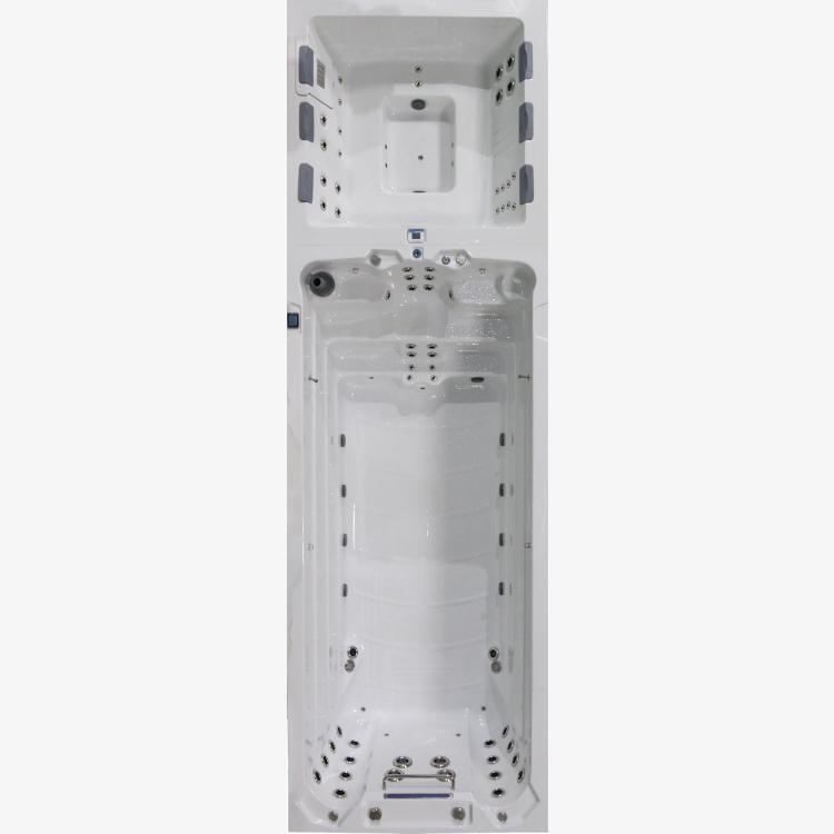 BHT 2130 Turbine with 6 Person Hot Tub Swim Spas