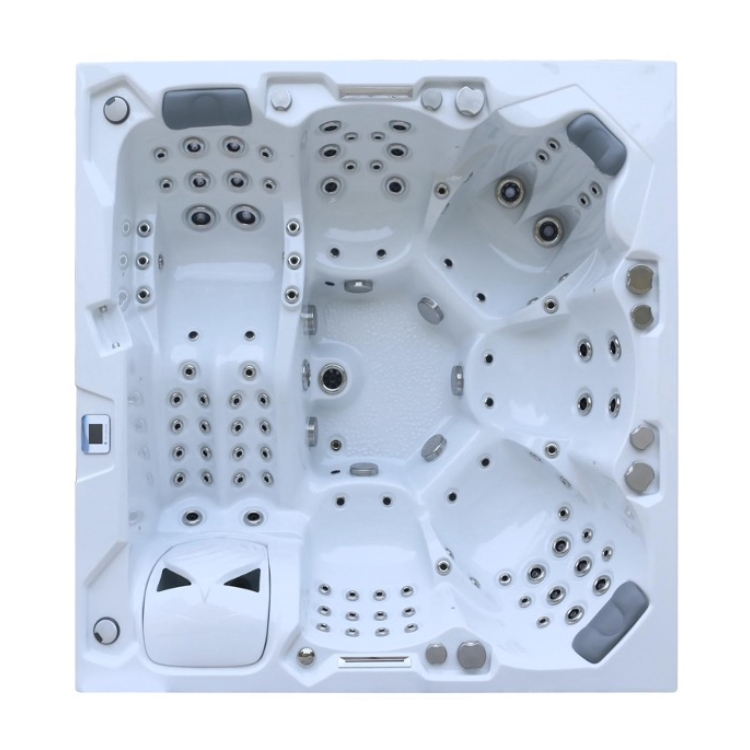 6 Person DT hot tub with 1 x Lounger for BHT 1000/2000 Swim Spas